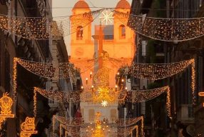 Christmas (lights) in Rome