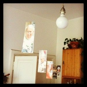 """Our """"Hanging Popes"""""""