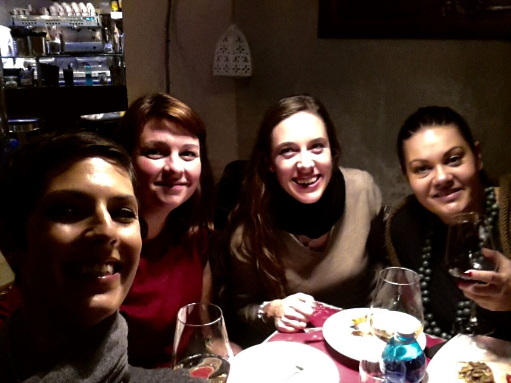 Moments like these with my Trastevere girls.